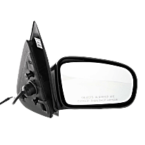 Mirror - Passenger Side, Power, Paintable, For Sedan