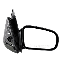 Mirror Non-folding - Passenger Side, Manual Remote Glass, Paintable