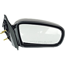 Mirror - Passenger Side, Manual Remote, Folding, Paintable