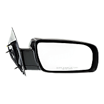 Mirror Manual Folding - Passenger Side, Manual Glass, Paintable