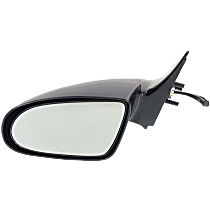 Mirror - Driver Side, Manual Remote Glass, Paintable