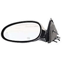 Mirror Heated - Driver Side, Paintable