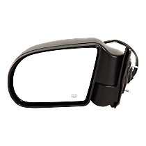 Mirror - Driver Side, Power, Heated, Folding, Textured Black, 2nd Design
