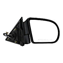 Mirror - Passenger Side, Power, Heated, Folding, Textured Black, 2nd Design