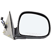 Mirror - Passenger Side, Power, Folding, Paintable
