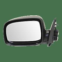 Mirror - Driver Side, Power Glass, Textured Black