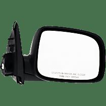 Mirror - Passenger Side, Power Glass, Textured Black