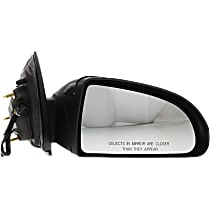 Mirror - Passenger Side, Power, Paintable, For Coupe