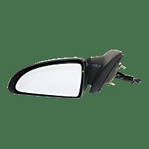 Mirror - Driver Side, Power, Chrome, For Sedan