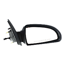 Mirror - Passenger Side, Power, Chrome, For Sedan