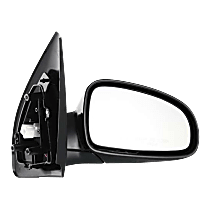 Mirror - Passenger Side, Power, Heated, Folding, Paintable, For Hatchback