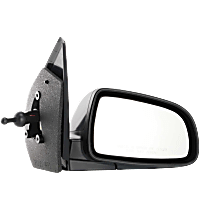 Mirror - Passenger Side, Manual Remote, Paintable