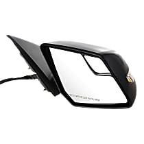 Mirror Power Folding Heated - Passenger Side, In-housing Signal Light, With Blind Spot Corner Glass, Paintable