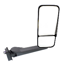 Mirror Manual Folding Heated - Passenger Side, Power Glass, In-housing Signal Light, With Blind Spot Corner Glass, Paintable