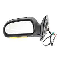 Mirror Power Folding Heated - Driver Side, Power Glass, In-housing Signal Light, Textured Black