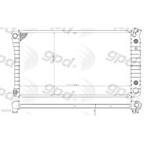 1211C Aluminum Core Plastic Tank Radiator