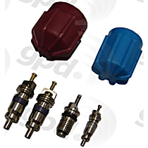 1311574 A/C Caps and Valve Core Seal Kit - Direct Fit