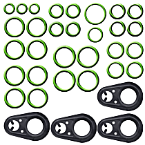 GPD 1321240 A/C O-Ring and Gasket Seal Kit - Direct Fit, Kit
