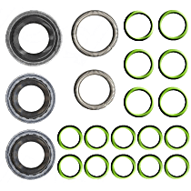 GPD 1321241 A/C O-Ring and Gasket Seal Kit - Direct Fit, Kit