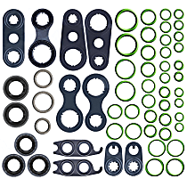 GPD 1321244 A/C O-Ring and Gasket Seal Kit - Direct Fit, Kit