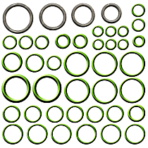 GPD 1321255 A/C O-Ring and Gasket Seal Kit - Direct Fit, Kit