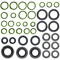 GPD 1321272 A/C O-Ring and Gasket Seal Kit - Direct Fit, Kit