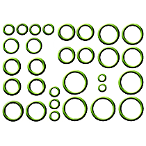 GPD 1321282 A/C O-Ring and Gasket Seal Kit - Direct Fit, Kit