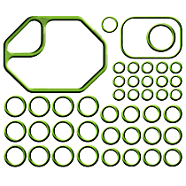 GPD 1321283 A/C O-Ring and Gasket Seal Kit - Direct Fit, Kit