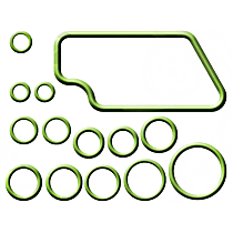 GPD 1321304 A/C O-Ring and Gasket Seal Kit - Direct Fit, Kit