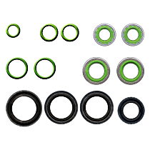 GPD 1321330 A/C O-Ring and Gasket Seal Kit - Direct Fit, Kit