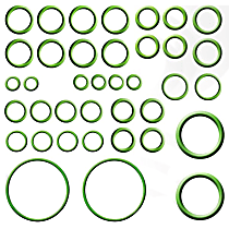 GPD 1321351 A/C O-Ring and Gasket Seal Kit - Direct Fit, Kit