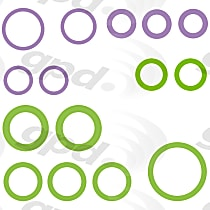 GPD 1321398 A/C O-Ring and Gasket Seal Kit - Direct Fit, Kit
