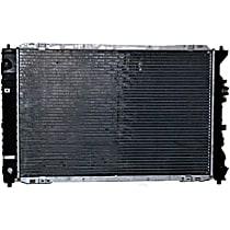 Aluminum Core Plastic Tank Radiator, 24.75 x 14.94 x 1.25 in. Core Size