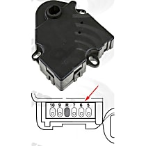 1712062 Blend Door Motor - Direct Fit, Sold individually