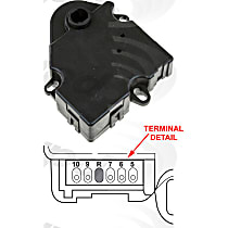 Heater Blend Door Actuator - Sold individually