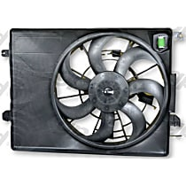 Cooling Fan Assembly - Sold individually, Radiator and Condenser Complete Assy