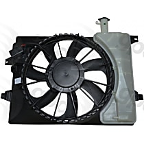 Cooling Fan Assembly Sold individually, Radiator and Condenser Complete Assy