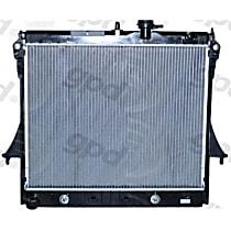 2855 Aluminum Core Plastic Tank Radiator