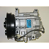 5511909 A/C Compressor Sold individually With clutch, 4-Groove Pulley