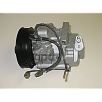 5511915 A/C Compressor Sold individually With clutch, 7-Groove Pulley