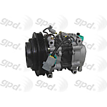 5512011 A/C Compressor Sold individually With clutch, 4-Groove Pulley