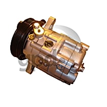 5512025 A/C Compressor Sold individually With clutch, 5-Groove Pulley