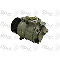 5512184 A/C Compressor Sold individually With clutch, 7-Groove Pulley