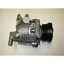 5512231 A/C Compressor Sold individually With clutch, 6-Groove Pulley