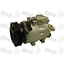 5512284 A/C Compressor Sold individually With clutch, 6-Groove Pulley