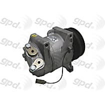 5512408 A/C Compressor Sold individually With clutch, 6-Groove Pulley