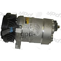 6511252 A/C Compressor Sold individually With clutch, 6-Groove Pulley