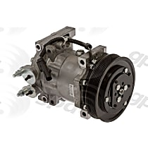 6511260 A/C Compressor Sold individually With clutch, 6-Groove Pulley
