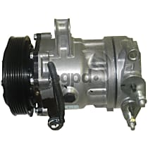 6511261 A/C Compressor Sold individually With clutch, 6-Groove Pulley