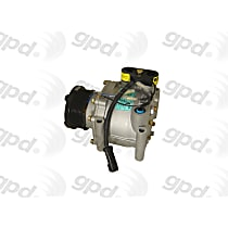 6511264 A/C Compressor Sold individually With clutch, 7-Groove Pulley